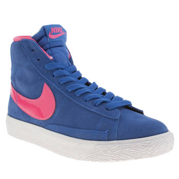 Nike Blue Blazer Mid Girls Youth
