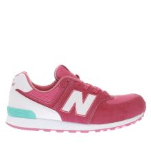 New Balance Pink 574 Girls Youth