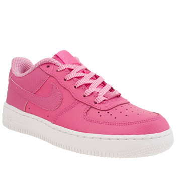Nike Pink Aire Force 1 Girls Youth