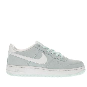 Nike Pale Blue Air Force 1 Girls Youth