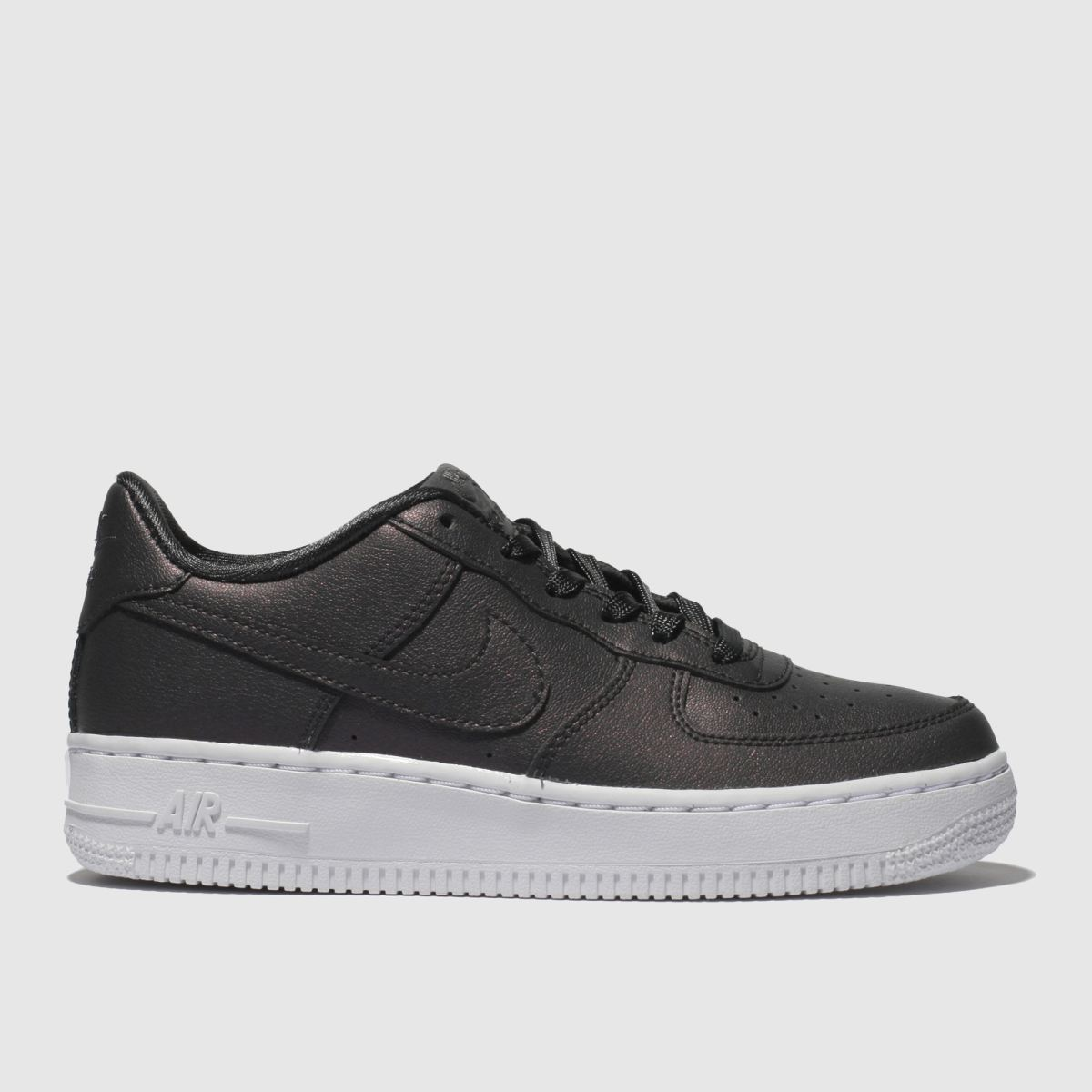 Nike Purple Air Force 1 Ss Trainers Youth