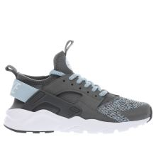 Nike Dark Grey Huarache Run Ultra Se Girls Youth
