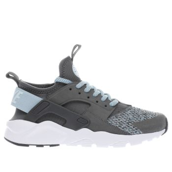 Nike Grey Huarache Run Ultra Se Girls Youth