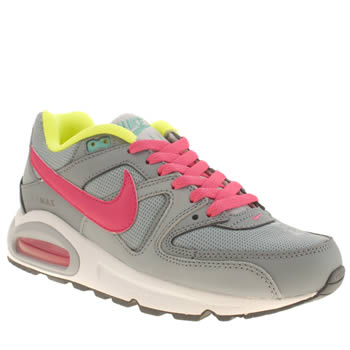 Girls Nike Grey Air Max Command Girls Youth