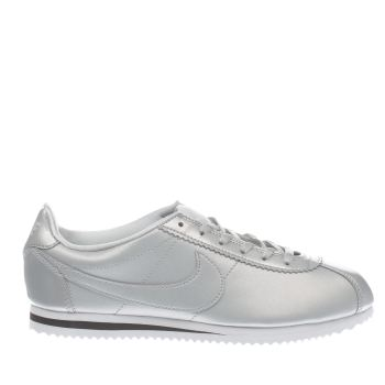 Nike Silver Cortez Se Girls Youth