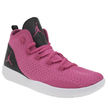 NIKE JORDAN  PINK REVEAL GIRLS YOUTH TRAINERS
