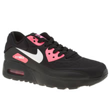 Nike Black & pink Air Max 90 Ultra Se Girls Youth
