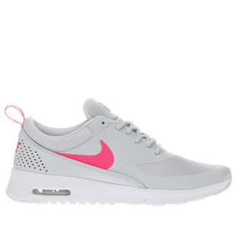 Nike Light Grey Air Max Thea Girls Youth