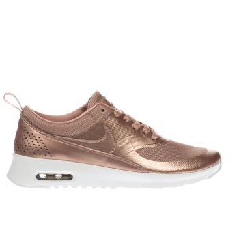 Nike Rose Gold Air Max Thea Se Girls Youth