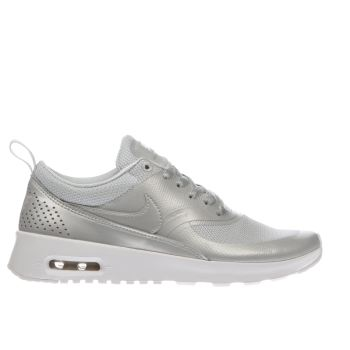 Nike Silver Air Max Thea Se Girls Youth