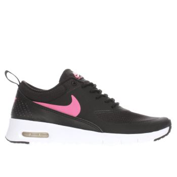 Nike Black & pink Air Max Thea Girls Youth