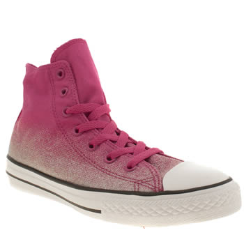 Girls Converse Pink All Star Wash Treat Girls Youth