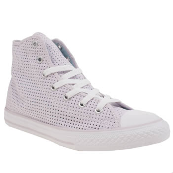 Converse Lilac Chuck Taylor Summer Hi Girls Youth