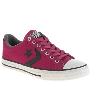 Converse Pink Star Player Oxford Girls Youth