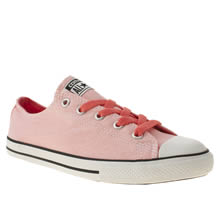 Youth Pink Converse All Star East Coaster
