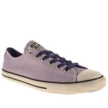 Youth Lilac Converse All Star East Coaster