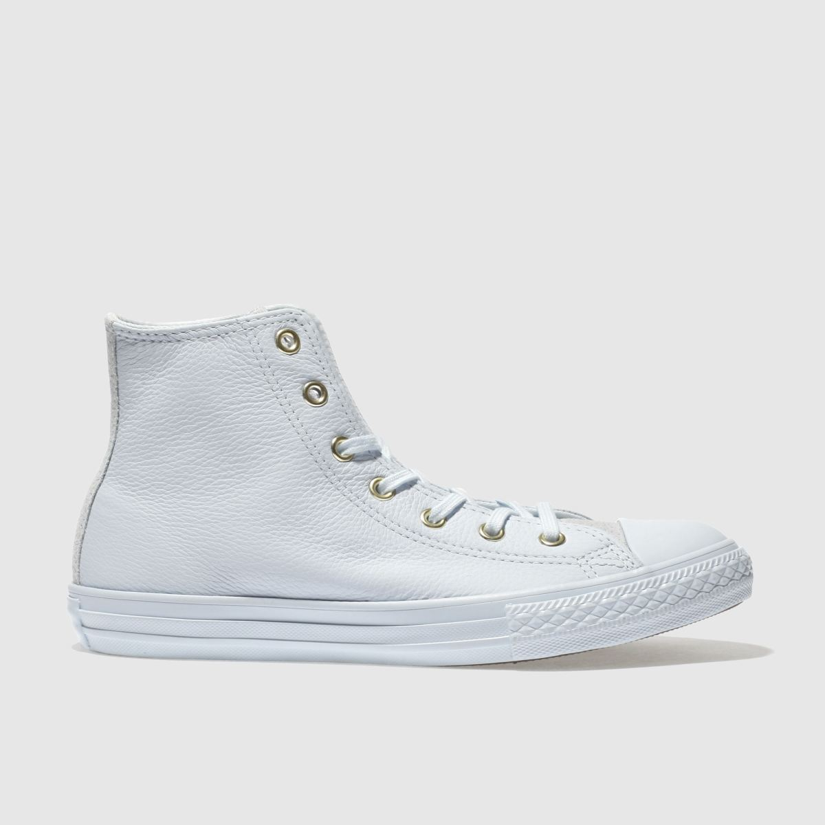 Converse Pale Blue Chuck Taylor All Star Hi Girls Youth Trainers