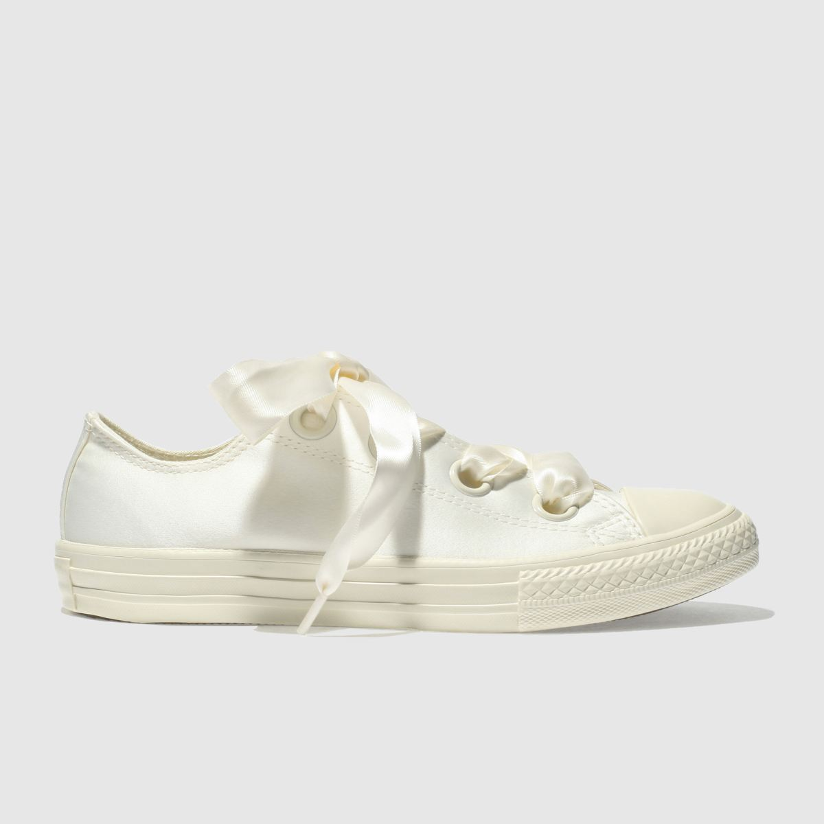 Converse Natural All Star Big Eyelets Lo Girls Youth Trainers