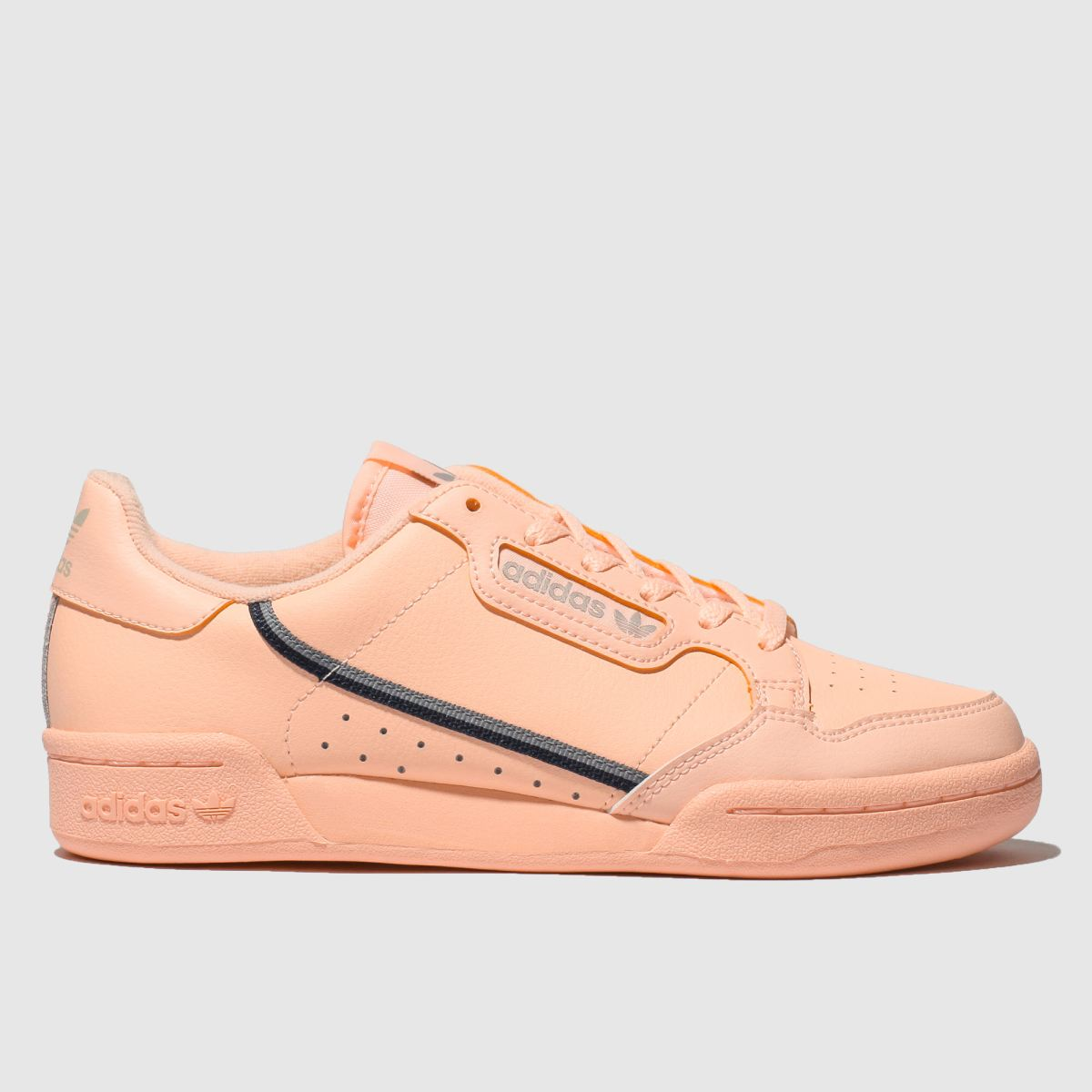 Adidas Peach Continental 80 Trainers Youth