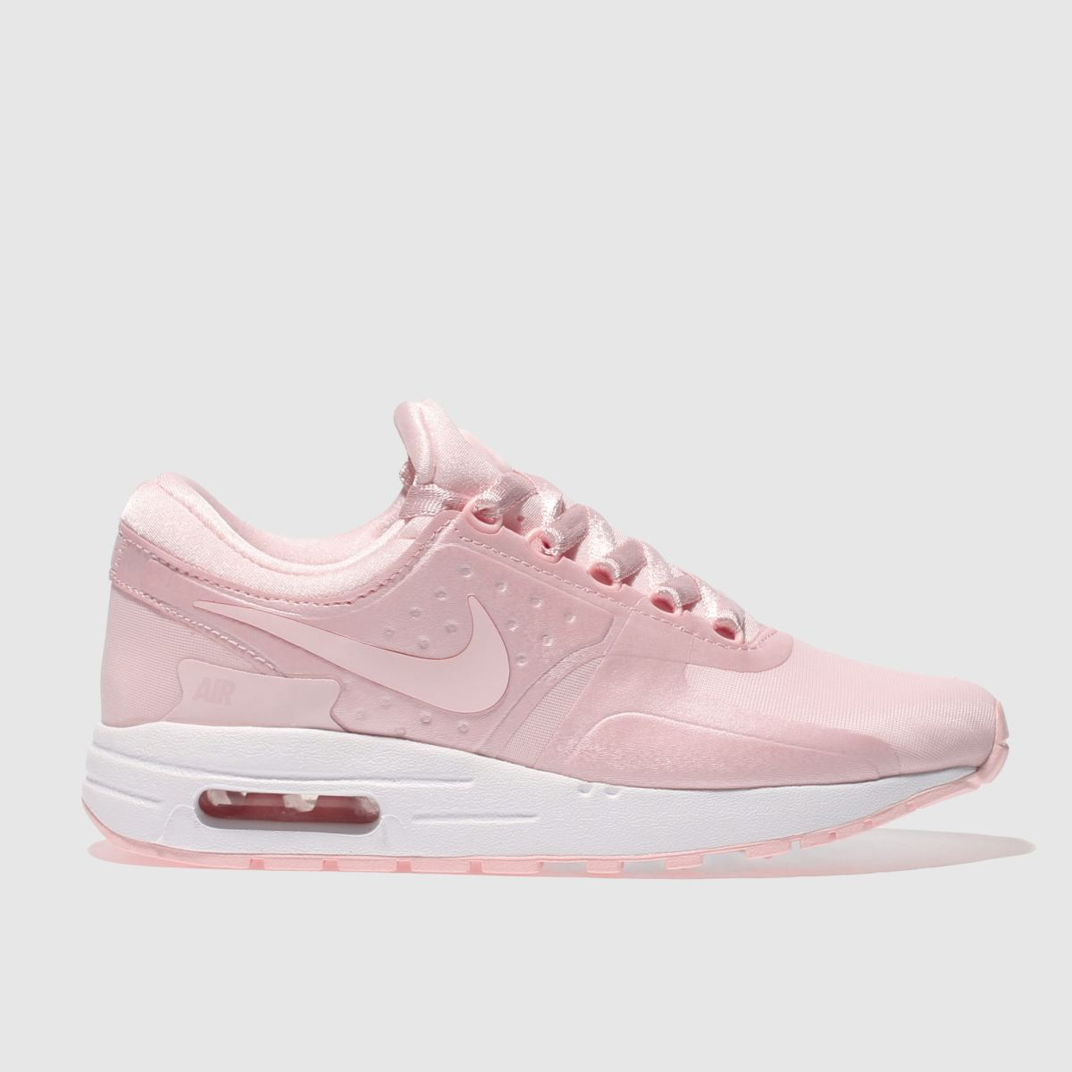 nike pale pink air max zero Girls Youth Trainers