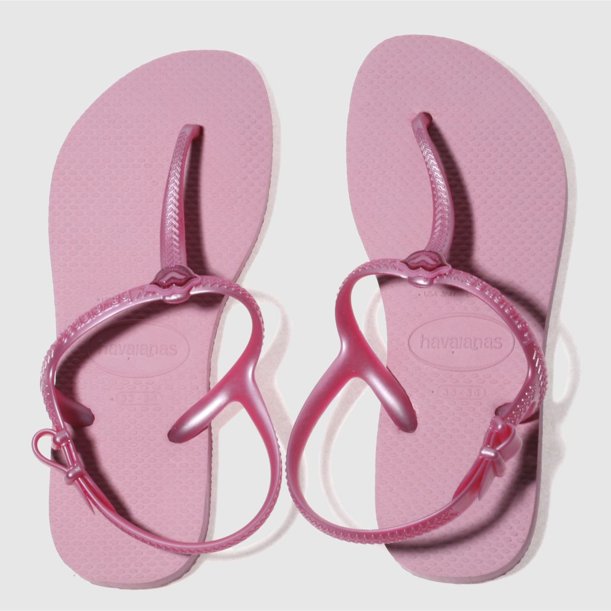 Havaianas Pink Freedom Sl Girls Youth Sandals