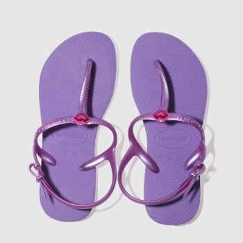Havaianas Purple Freedom Sl Girls Youth