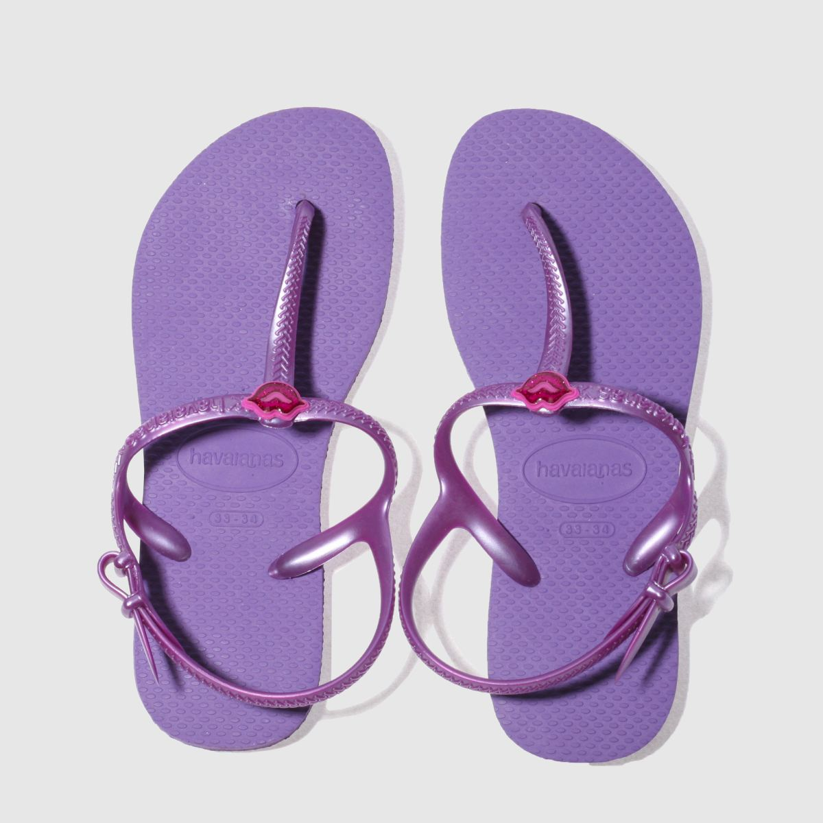 Havaianas Purple Freedom Sl Girls Youth Sandals
