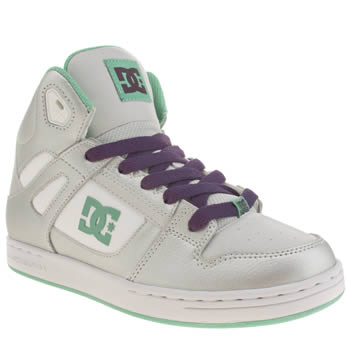 Dc Shoes Silver Rebound Girls Youth