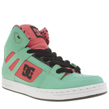 Dc Shoes Turquoise Rebound Se Girls Youth