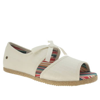 Ugg Australia White Ashleen Girls Youth