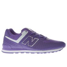 New Balance Purple 574 Breathe Girls Youth