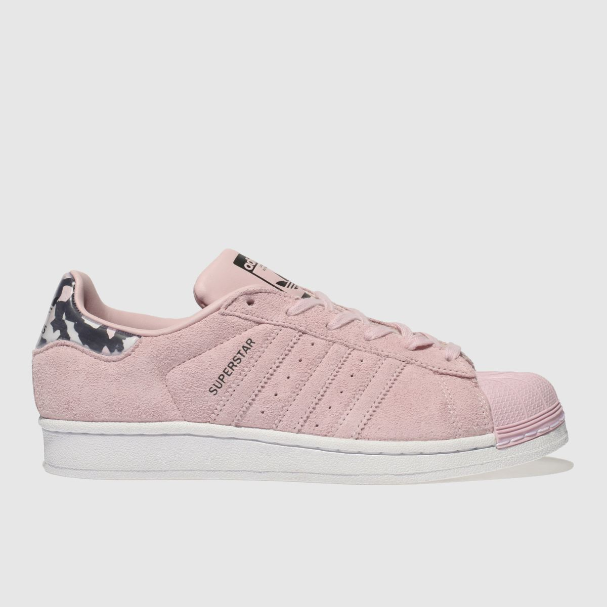 Adidas Pink Adi Superstar Girls Youth Youth