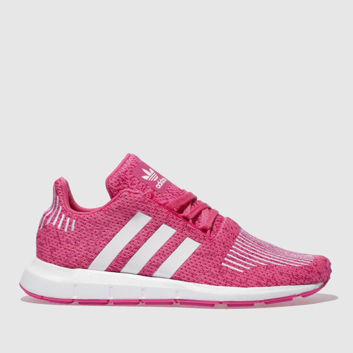 Adidas Pink Swift Run Girls Youth Youth