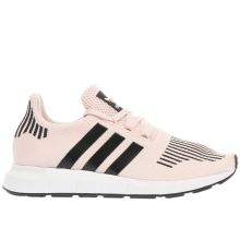 Adidas Pink & Black Swift Run Girls Youth