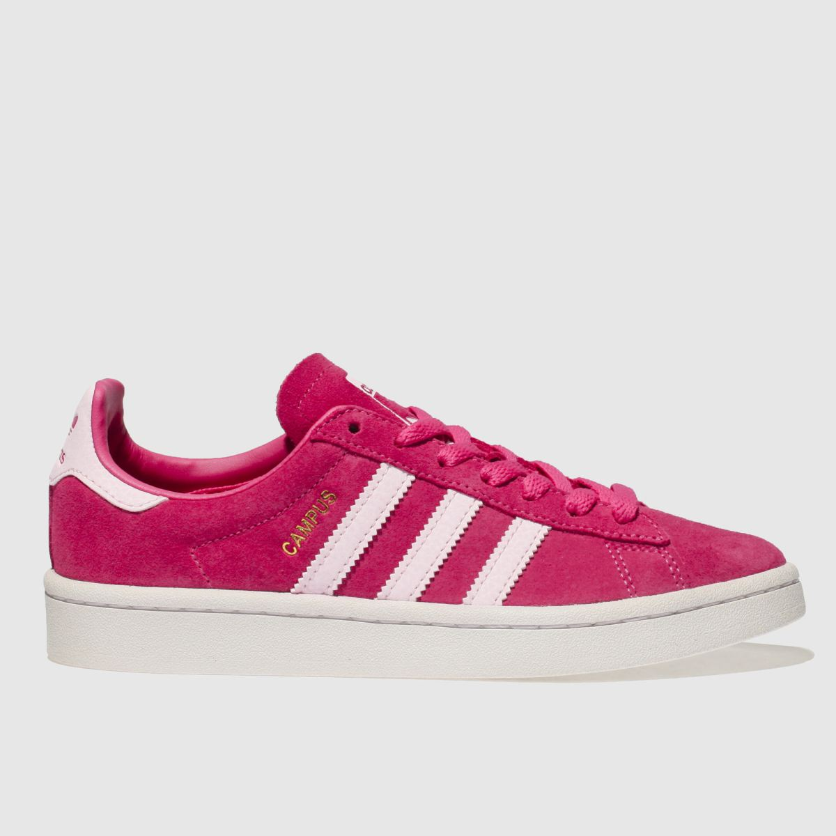 Adidas Pink Campus Girls Youth Youth