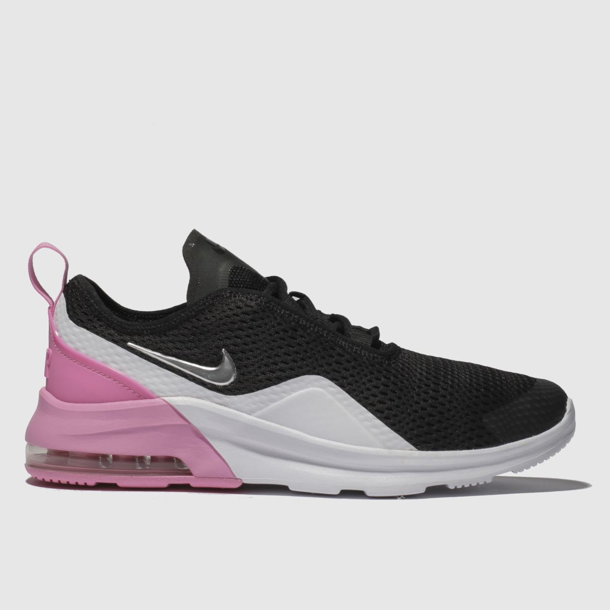 Nike Black & Pink Air Max Motion 2 Trainers Youth
