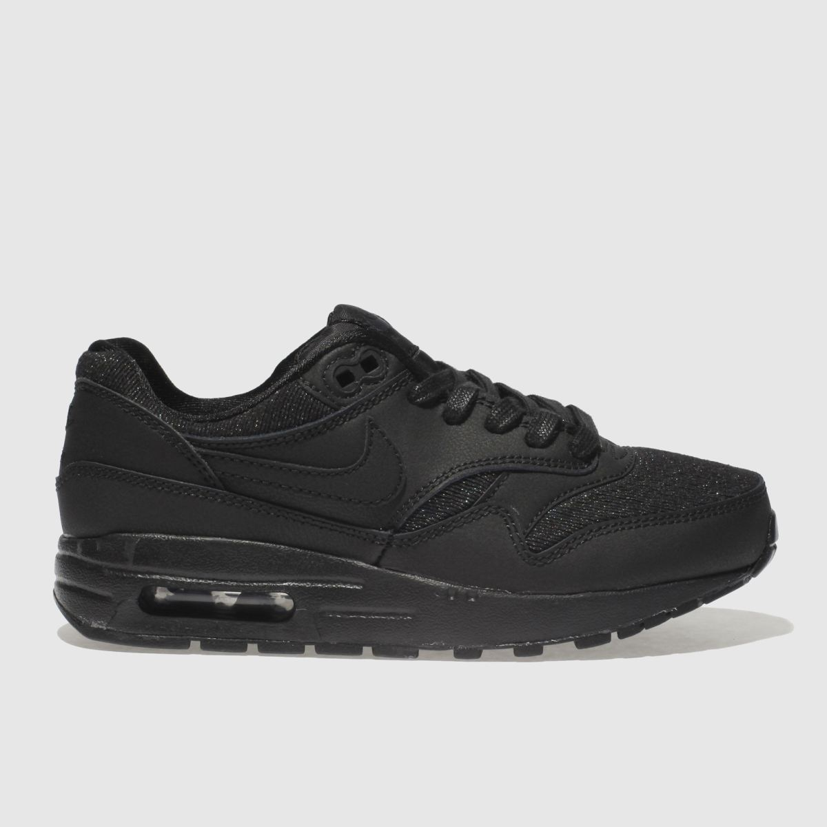 Nike Black Air Max 1 Se Girls Youth Youth