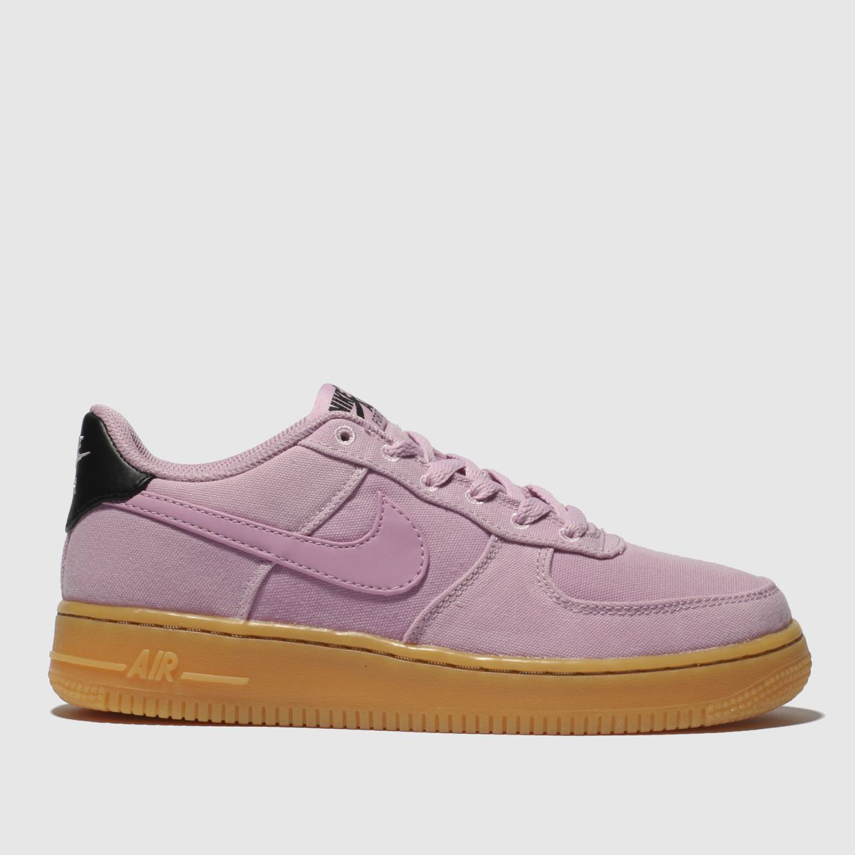 Nike Pale Pink Air Force 1 Lv8 Style Trainers Youth