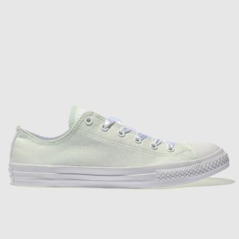 Converse Green All Star Lo Polka Dot Girls Youth