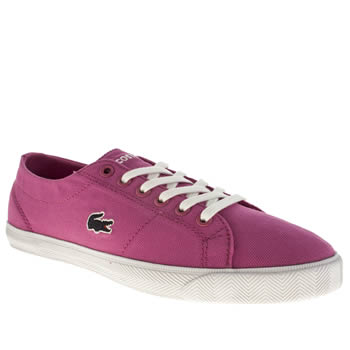 Lacoste Pink Marcel Girls Youth