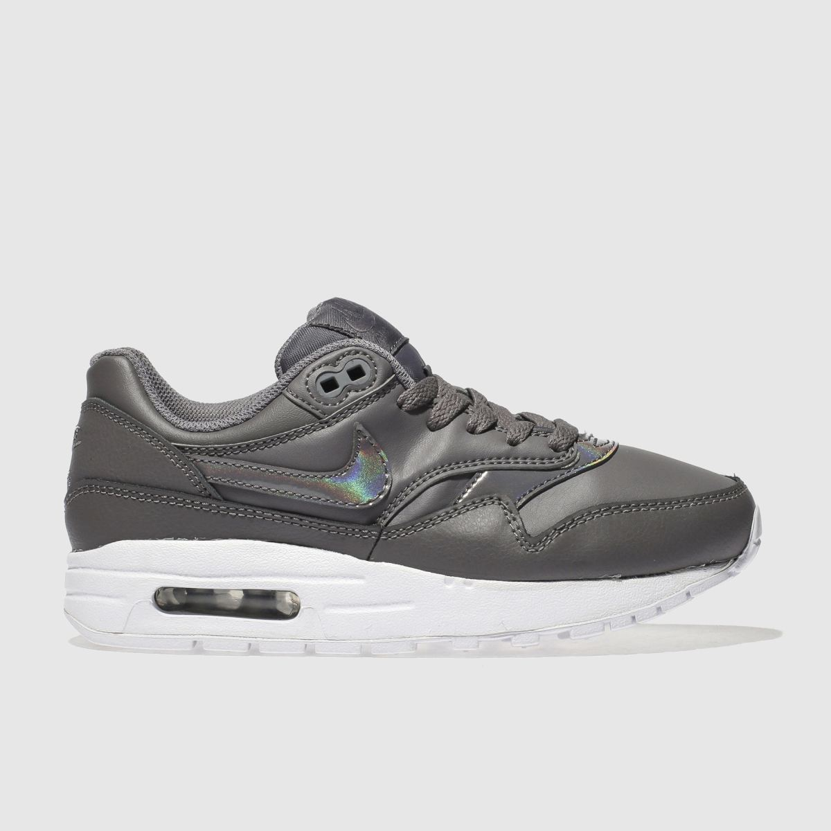 Nike Grey Air Max 1 Trainers Youth