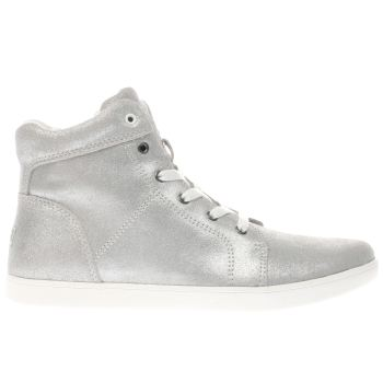 Ugg Silver Schyler Metallic Girls Youth