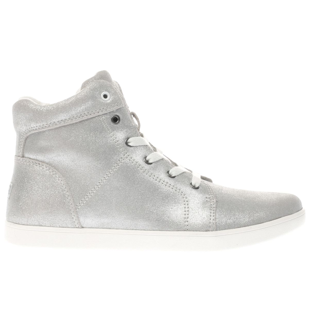 ugg silver schyler metallic Girls Youth Trainers