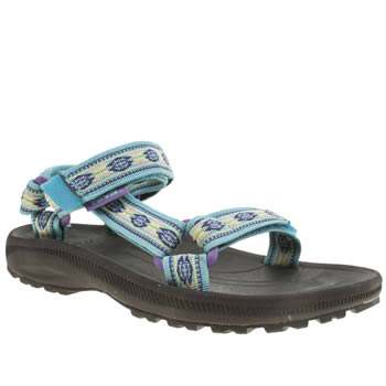 Teva Pale Blue Hurricane 2 Girls Youth