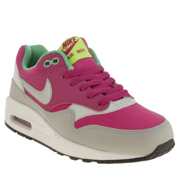 Girls Nike Pink Air Max 1 Girls Youth