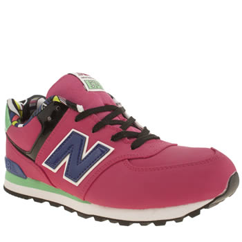 New Balance Pink 574 Pop Tropical Girls Youth