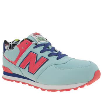New Balance Turquoise 574 Girls Youth