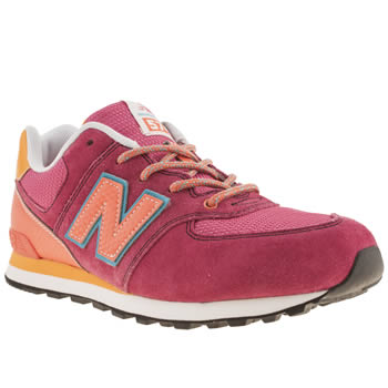 New Balance Pink 574 Carnival Girls Youth