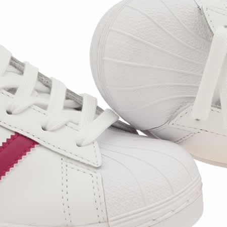 Adidas Superstar Pink Stripe
