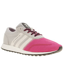 Adidas Pink Los Angeles Girls Youth